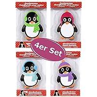 4er Set Taschenwärmer Pinguin itsisa® (tolles Wichtelgeschenk) Handwärmer, Taschenheizkissen preisvergleich bei billige-tabletten.eu