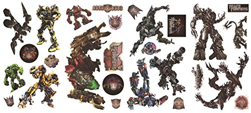 Transformer Wand Aufkleber-Optimus Prime-Bumblebee-Giant Wandtattoo Decor Party Deko Transformer Set