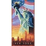 Schipper Die Freiheitsstatue von America Malen nach Zahlen 40 x 80 cm