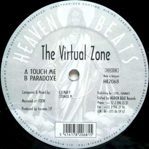 Virtual Zone - Touch Me / Paradoxe - Heaven Beats Rec. - HB 2068