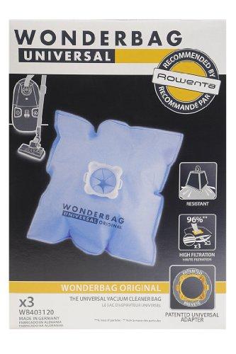 Wonderbag WB403120 - Juego de bolsas para aspirador (6 L, 3 unidades)
