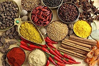 TOP QUALITY 15 INDIAN SPICES **FREE U.K POST** Spice Refill - Masala Dabba REFILL by falconsuperstore