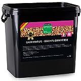 WAGNER Bachflohkrebse getrocknet - 10 Liter (1,0 kg) Gammarus Pulex - Proteinreiches Naturfutter - Koifutter Teichfutter Reptilienfutter