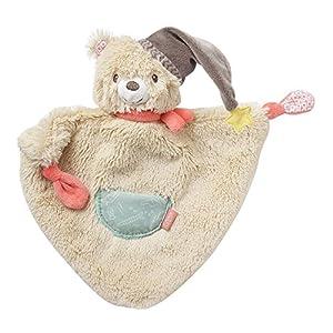 Fehn - Manta de Seguridad para bebé, diseño de Cabeza de Animal Bär, Bruno