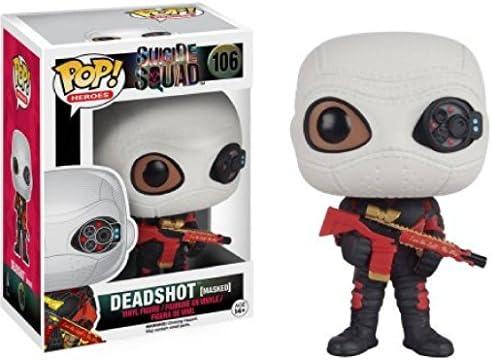 Figurine Pop! Vinyl Suicide Squad - Deadshot avec masque (0cm x 9cm) | Les Consommateurs D'abord