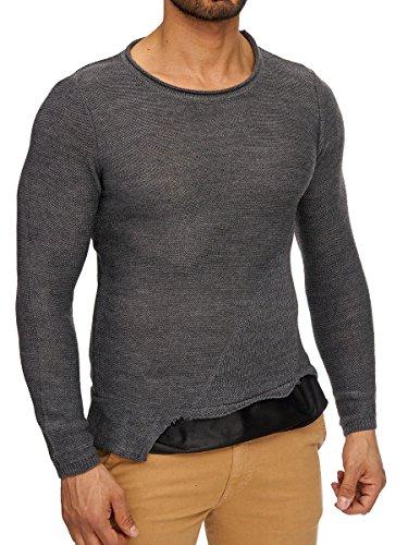 L.A.B 1928 Herren Longsleeve Pullover Pulli Langarmshirt Sweatshirt Shirt