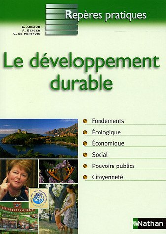 DEVELOPPEMENT DURABLE par EMMANUEL ARNAUD
