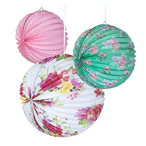 talking-tables-truly-scrumptious-floral-paper-lanterns-for-party-decoration-multicolor-3-pack