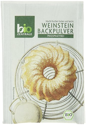 biozentrale Backpulver, 3er Pack (3 x 21 g), phosphatfrei, 10er Pack (10 x 63 g)