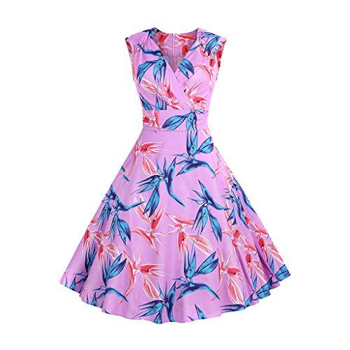 Vestito di grandi dimensioni,momoxi femmes vintage impression bow ball robe soirée décontractée robe de bal swing jupe habillée à taille rose et à fond blanc et à imprimé blanc pour dame
