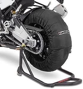 Termocoperte pneumatico Set 60-80 C nero per Ducati 1198//1098 848// Evo