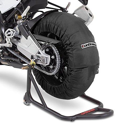 Calentadores de neumáticos Set 60-80 C Negro para Yamaha YZF-R6, YZF-R1