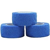 COMOmed Kohäsive Bandage 2.5cm 3 Stück Selbstklebend Bandage Kohäsive Athletic Tape alleray getestet Pflasterverband... preisvergleich bei billige-tabletten.eu