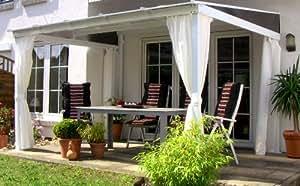 Leco Terrassenüberdachung mit Doppelstegplatten