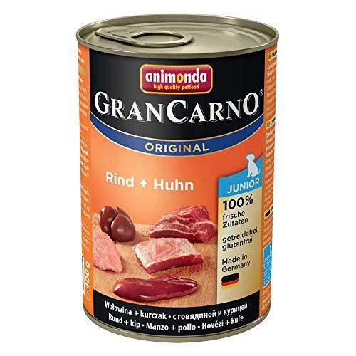 Animonda CranCarno Junior Rind + Huhn 12 x 400 g Dose - Hundefutter