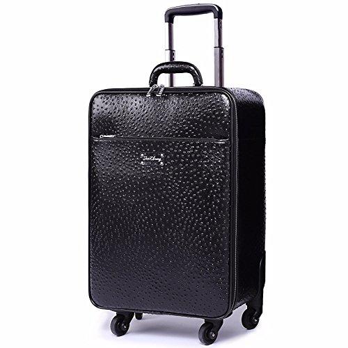 hoom-maletin-de-cuero-rueda-universal-equipaje-de-cabina-de-negociosh37l38w20-cmnegro