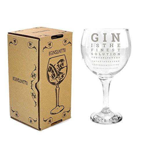 Ginsanity 22oz (645ml) Gin Balloon Glass Cocktail - Gin & Tonic - Eye