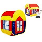 Itian Colorido Gran Sala de Juego de Interior y al Aire Libre Tienda de Campaña, Casa de Juegos para Niños con 2 Puertas (88 * 90 * 110 cm)