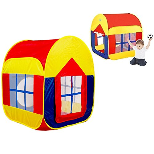 Itian-Colorido-Gran-Sala-de-Juego-de-Interior-y-al-Aire-Libre-Tienda-de-Campaa-Casa-de-Juegos-para-Nios-con-2-Puertas-88-90-110-cm