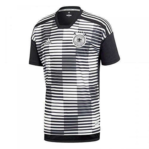 adidas Herren DFB Pre-Match Shirt T, White/Black, XL