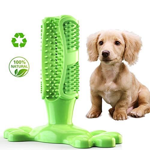 Hundezahnbürste, Haustier Hundespielzeug Zahnzahnbürste Teddy Welpen Dekompression elastischen Gummi Backenzahn beißfest Tierspielzeug