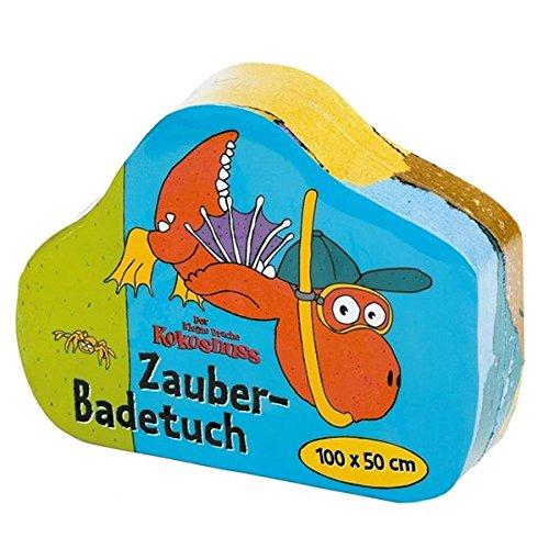 Der kleine Drache Kokosnuss - Zauber-Badetuch -