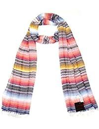 Lovarzi - Coloridas rayas en bufanda para mujeres - Hecho en Italia - perfecta para invierno y verano