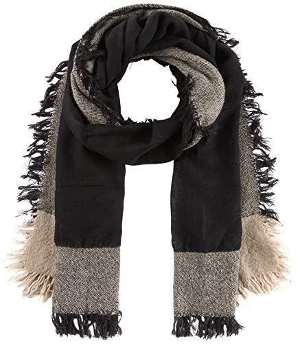 United Colors of Benetton Damen Scarf Schal, Schwarz (Black 700), One Size (Herstellergröße: OS)
