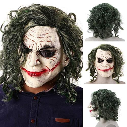 Das Ultimative Batman Kostüm - AMSIXP Maske Halloween Horror Zauberer Clown