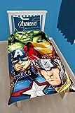 Marvel Avengers Tech Bettwäsche-Set für Einzelbetten,großes Druckdesign