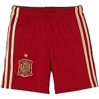 adidas Selección Española de Fútbol - Pantalones cortos de fútbol para niño, Rojo, 164