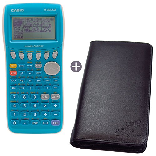 Casio FX 7400 G II + CalcCase GTR Schutztasche