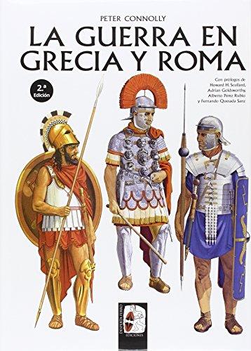 Portada del libro La guerra en Grecia y Roma (Ilustrados)