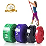 FREETOO Exercise Resistance Bands for Men Women 4 levels SET