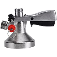 Acogedor Beer Keg Coupler, G Type Beer Tap Keg Coupler - Enchufe de Cerveza con