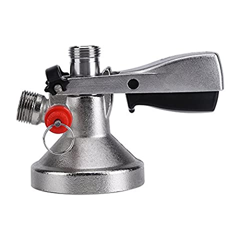 G Type Keg Coupler Beer Stainless Steel Dispenser Beer Keg Tap Beer Faucet System