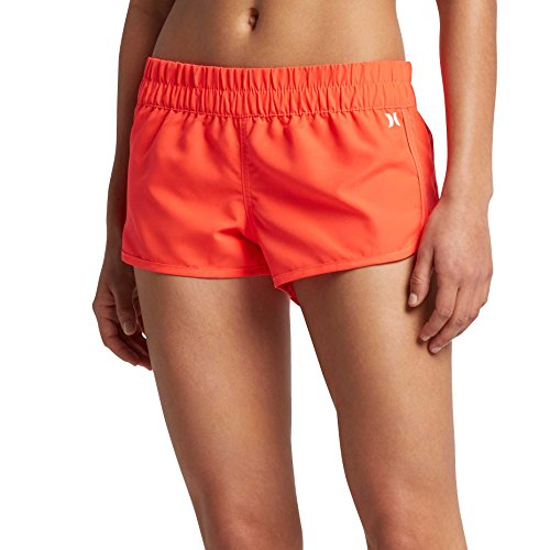 Hurley Junge Frauen Supersuede Solid Beachrider Short, X-Large, Bright Crimson