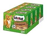 Kitekat Katzenfutter Nassfutter Adult für erwachsene Katzen Fleischauswahl in Sauce