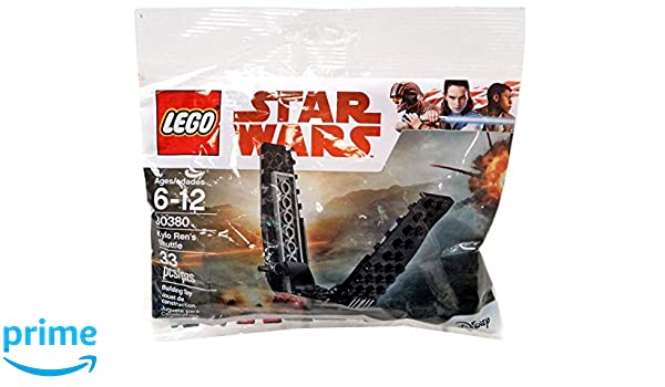 LEGO Star Wars 30380 Kylo Ren/'s Shuttle 33 Pieces Polybag Poly Bag 2018 Disney