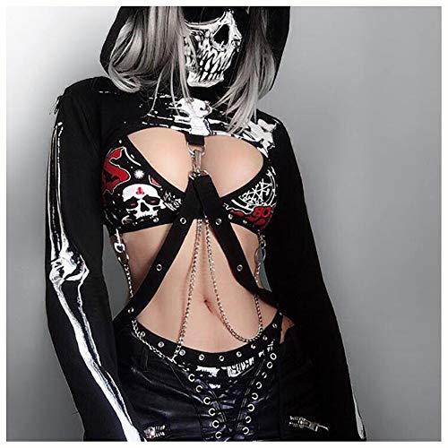 XIONGDA Disfraz de Cosplay de Halloween para Mujer Disfraz de...