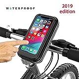 Choose Your Bike Puerto teléfono para Bicicleta Negro Universal Resistente al Agua, Bolsos Bicicleta, Apto para Todos los teléfonos iPhone XS, XR, 8,7,6, Samsung, LG, Nokia