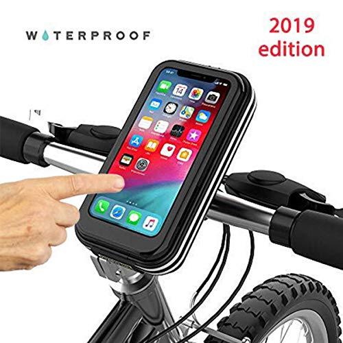 Choose Your Bike Fahrrad-Telefon schwarz Universal Waterproof, Fahrradtasche, geeignet für alle iPhone XS, XR, 8,7,6, Samsung, LG, Nokia