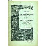 MEMOIRES DE LA SOCIETE DE SPELEOLOGIE N°4. JUIN 1896. LA GROTTE DE BAUME LES MESSIEURS (JURA)