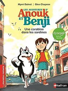 """Afficher """"Les aventures d'Anouk et Benji<br /> Une carabine dans les sardines"""""""