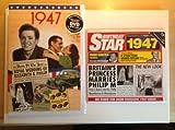 1947 Regalo di Compleanno - Film DVD 1947 , CD 1947 Biglietto di Auguri 1947