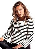 Love2Wait Shirt Striped Umstands Sweatshirt Freizeit Langarmshirt