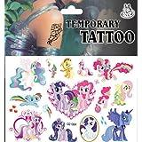 VB Mi Pequeño Pony Selección De Tatuajes Temporales (Aprobado UE Normas De Seguridad) - Ideal para Infantil Fiesta Fiestas - Seguro y fácil de usar - Envío El Mismo Día para - De Muy Bazzar