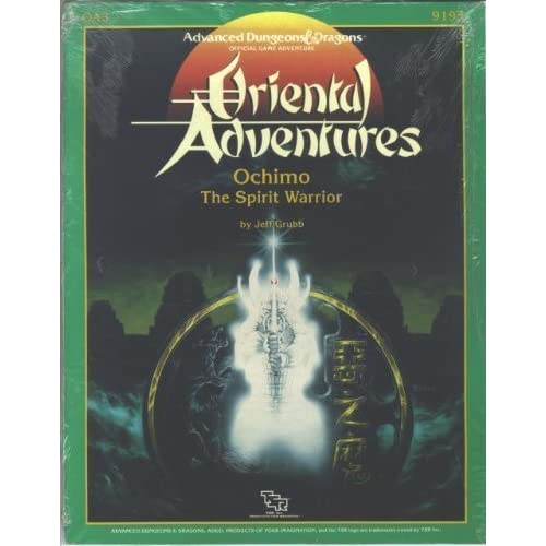 Ochimo: The Spirit Warrior (Advanced Dungeons & Dragons/Oriental Adventures module OA3)