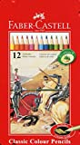 Faber-Castell 115844 Classic Crayons de couleur Boîte...