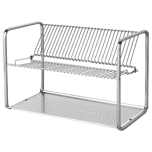 IKEA Abtropfgestell, Edelstahl, 50 x 27 x 36 cm